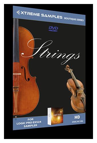 Xtreme Samples Boutique Strings       Logic Pro X Boutique